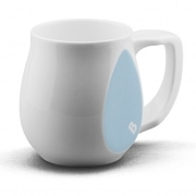 Ceramic light blue coffee mugs perfect as a novelty mug gift