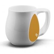 Ceramic yellow coffee mugs perfect as a novelty mug gift
