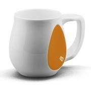 Ceramic orange coffee mugs perfect as a novelty mug gift