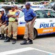 Johannesburg metro police