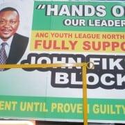John Block poster of support