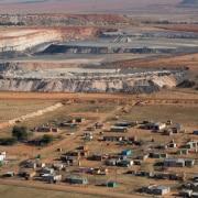 A mining community in Mpumalanga living close to mining operations