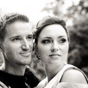 Portrait des Brautpaares