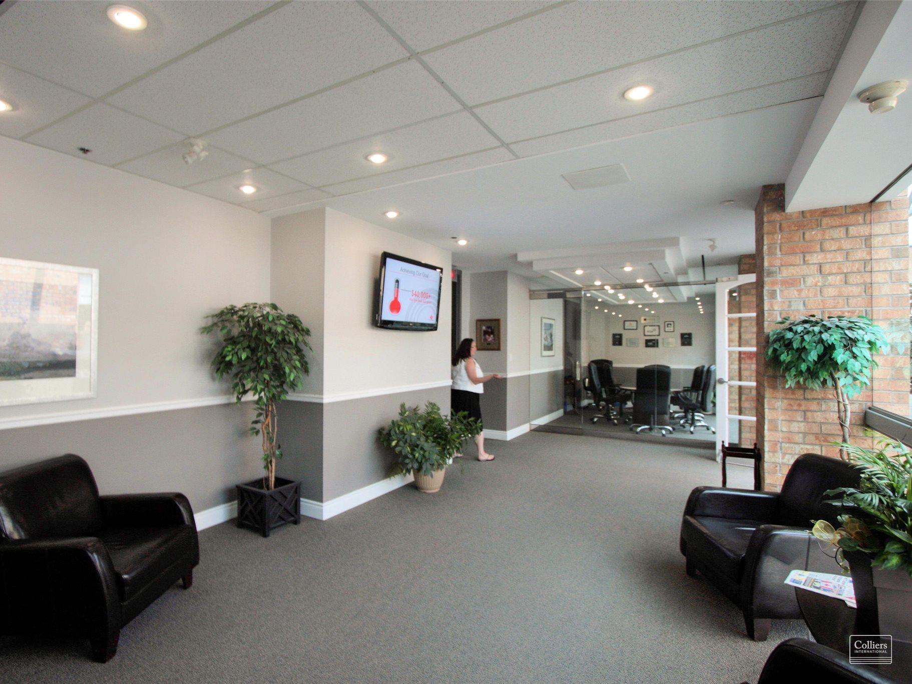 Office Lobby at 2150 Islington