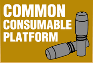 Common Consumable Platform allows for smaller inventories that are easier to manage.