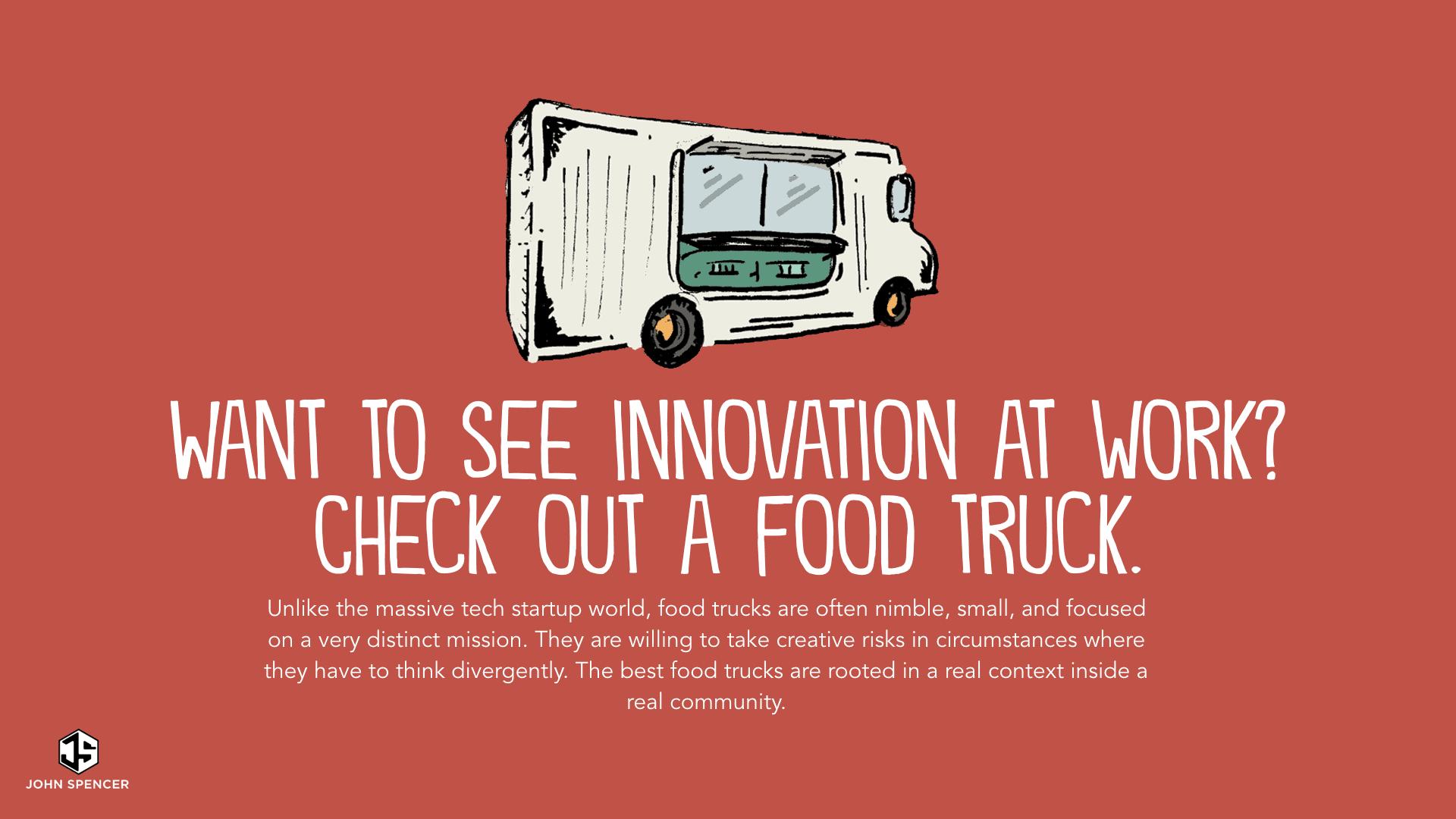 The Food Truck Mindset