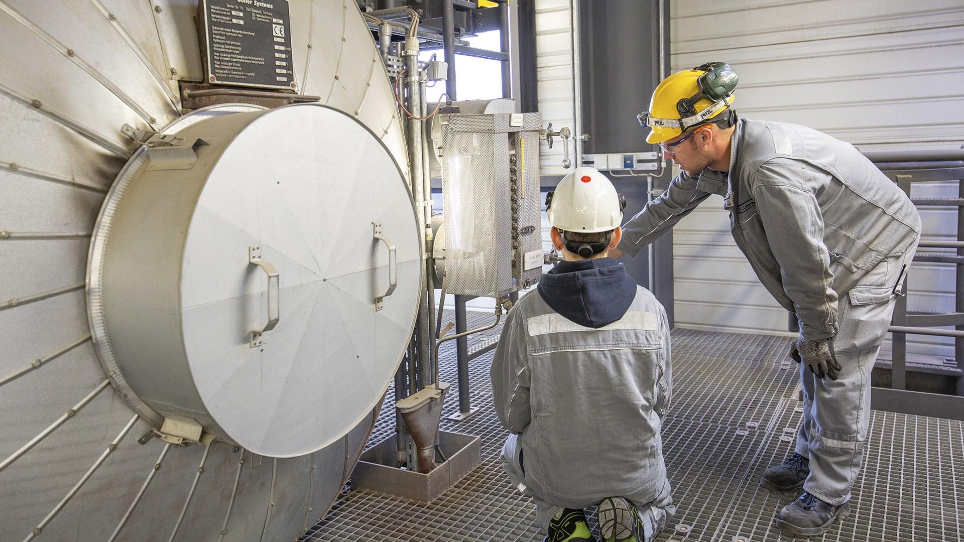 Industriefotografie im Heizkraftwerk