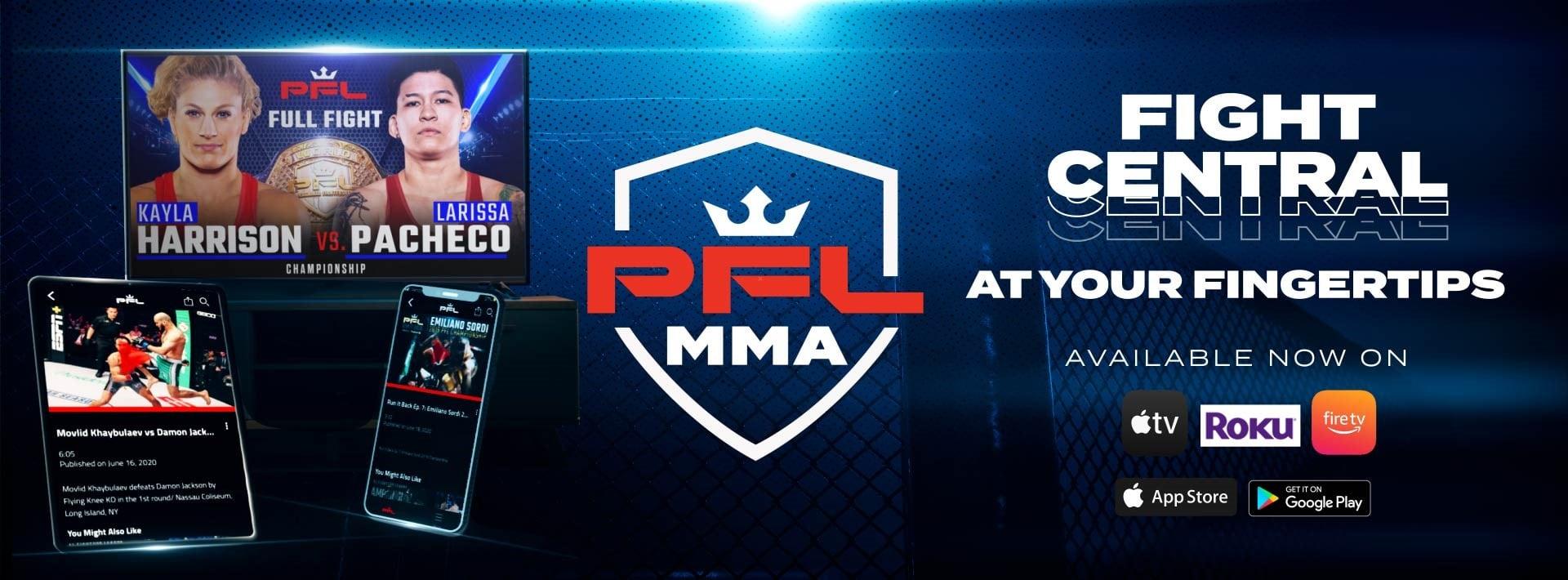 PFL OTT Imagery - MMA Fight Coverage