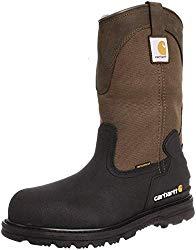 best waterproof work boots pull on