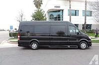 luxury 10,12,14 passenger Mercedes sprinter van for hire in DC, MD, VA