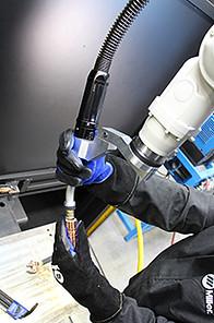 Image of a CA3 TOUGH GUN Robotic air-cooled gun