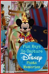 Fun tips and tricks for capturing great Disney Photo Memories on your next Walt Disney World Vacation. #DisneySide #DisneySMMC