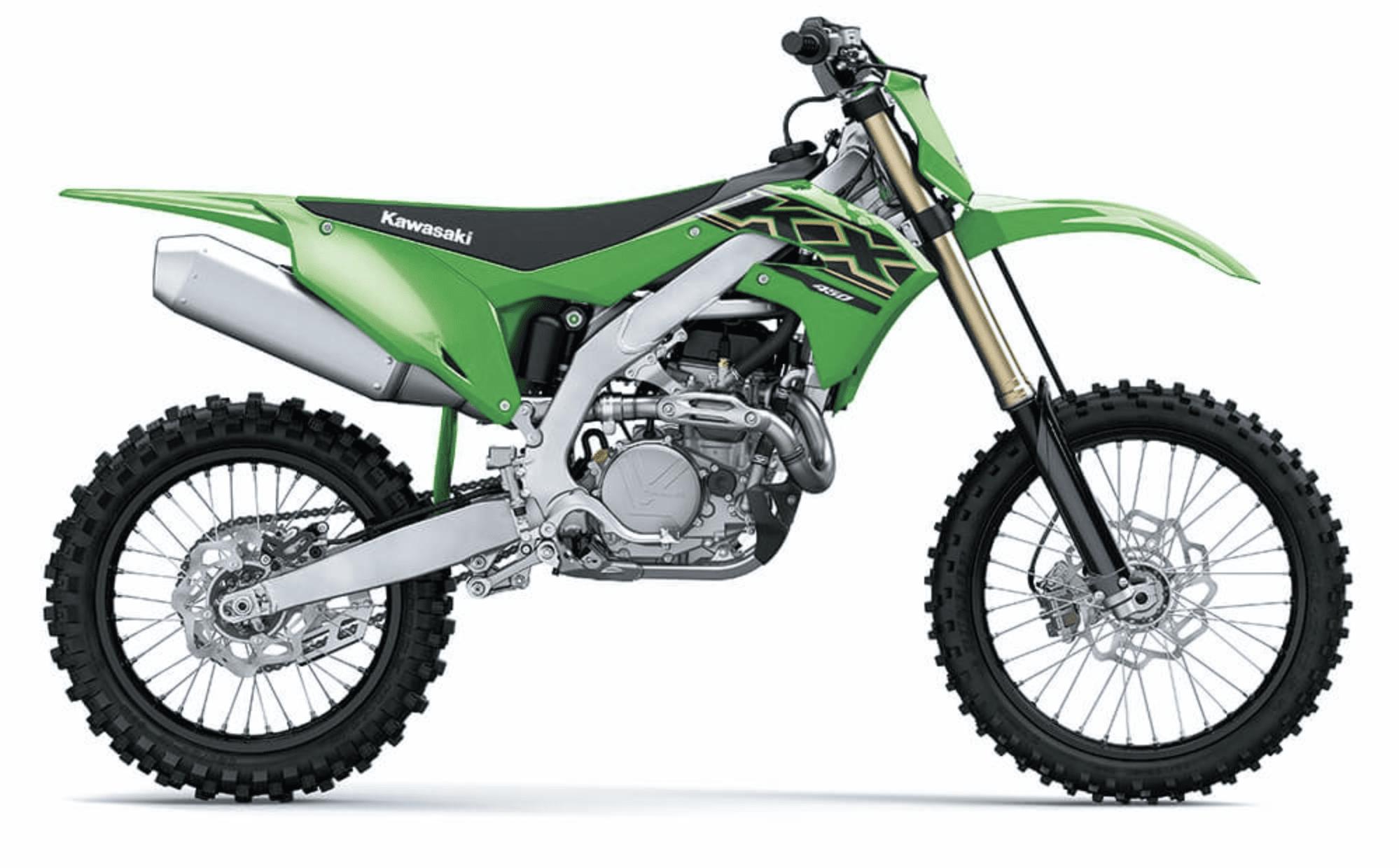 Adult Kawasaki Motocross bike