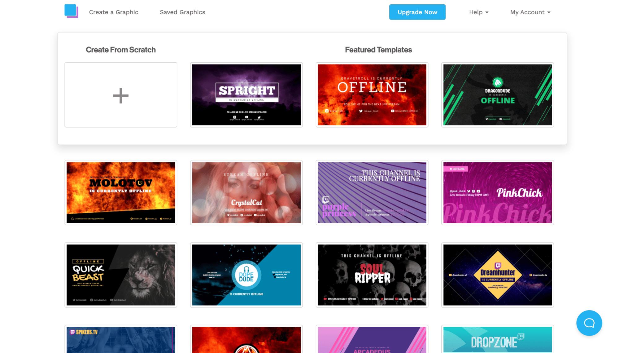 snappa offline banner examples