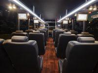24 passenger executive mini-coach bus shuttle