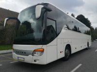 56 passenger motorcoach for hire in Washington DC, MD, VA