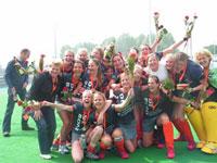 image: Hockey dames Were Di Kampioen in eerste klasse
