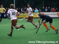 image: Tilburg hockey heren spelen gelijk bij Oranje Zwart