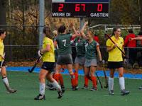 Hockey dames Were Di winnen thuis van Helmond D1