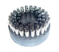 Grande brosse ronde en acier inoxydable