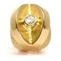 Trollbeads Gold with Diamonds