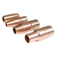 Group of four different style Tregaskiss nozzles