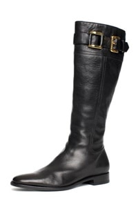 Burberry Leather Riding Boot