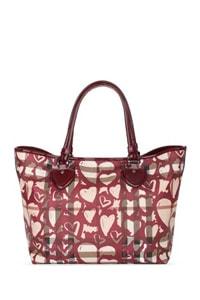 Nova Heart Painted Tote Bag