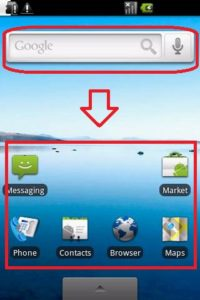 Андроид 2.0-2.1 Éclair