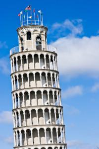 Tower of Piza replica