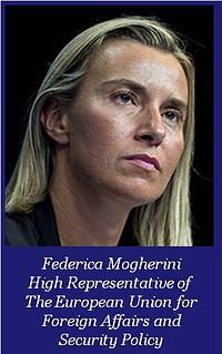 Frederica Morgherini High Representative of the EU