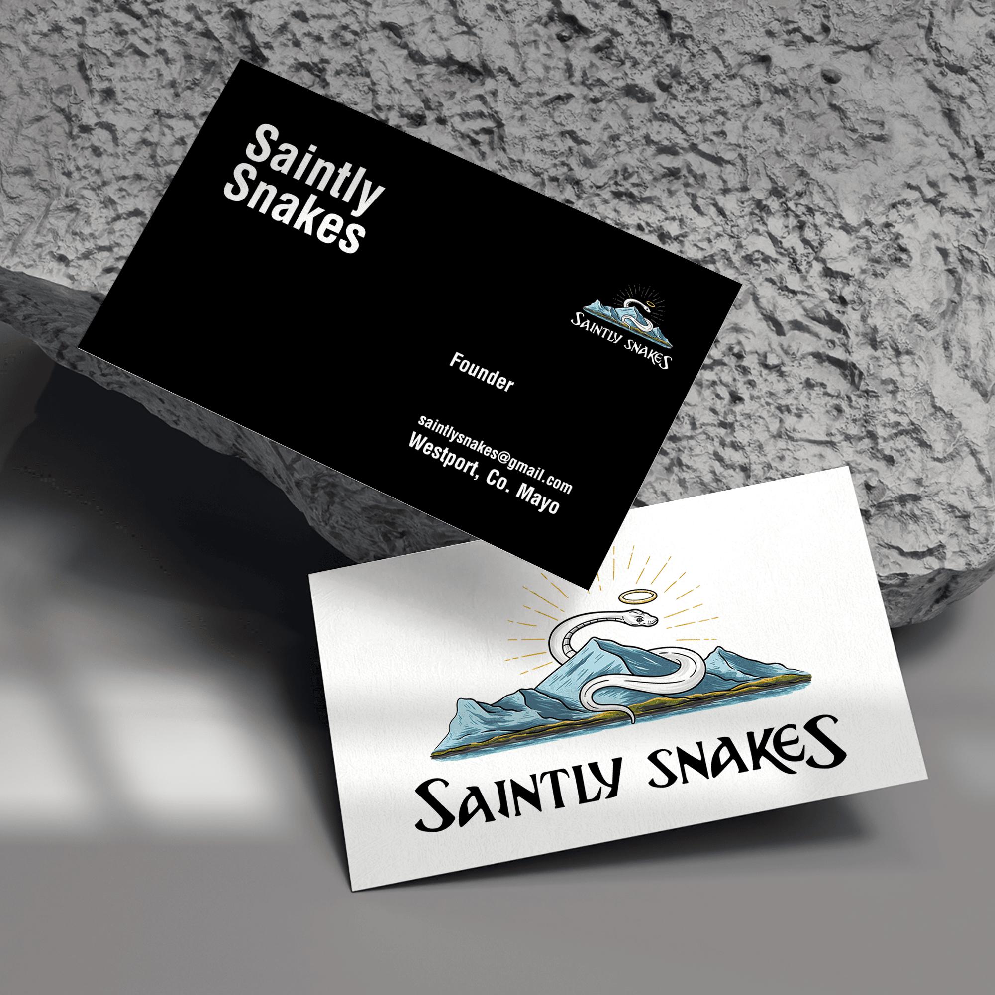 Logo Design | Saintly Snakes