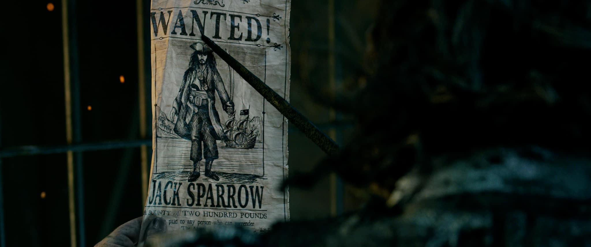 Teaser Trailer for Pirates Of The Caribbean: Dead Men Tell No Tales