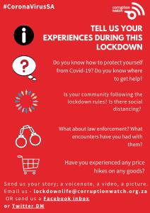 #LockdownLife English poster