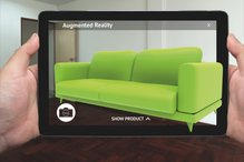 Augmented Reality Anwendung am Tablet