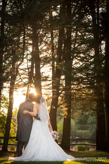 Wedding of Hayley and Jamie Wickwoods Country Club 3