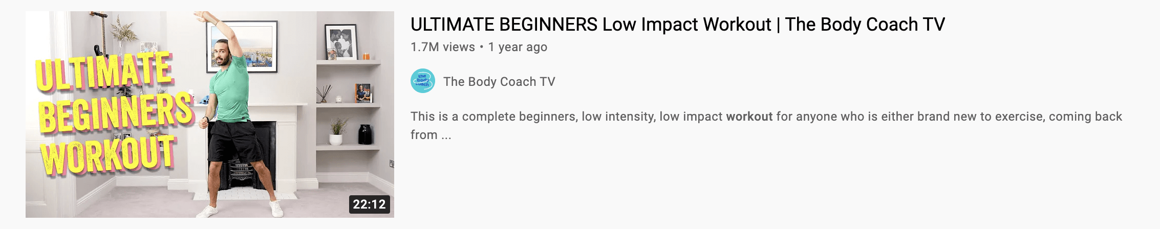 youtube workout thumbnail example