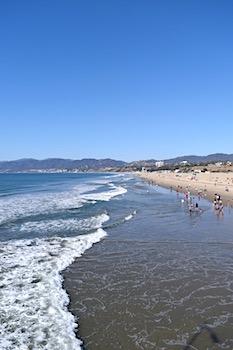 ロサンゼルスの海岸