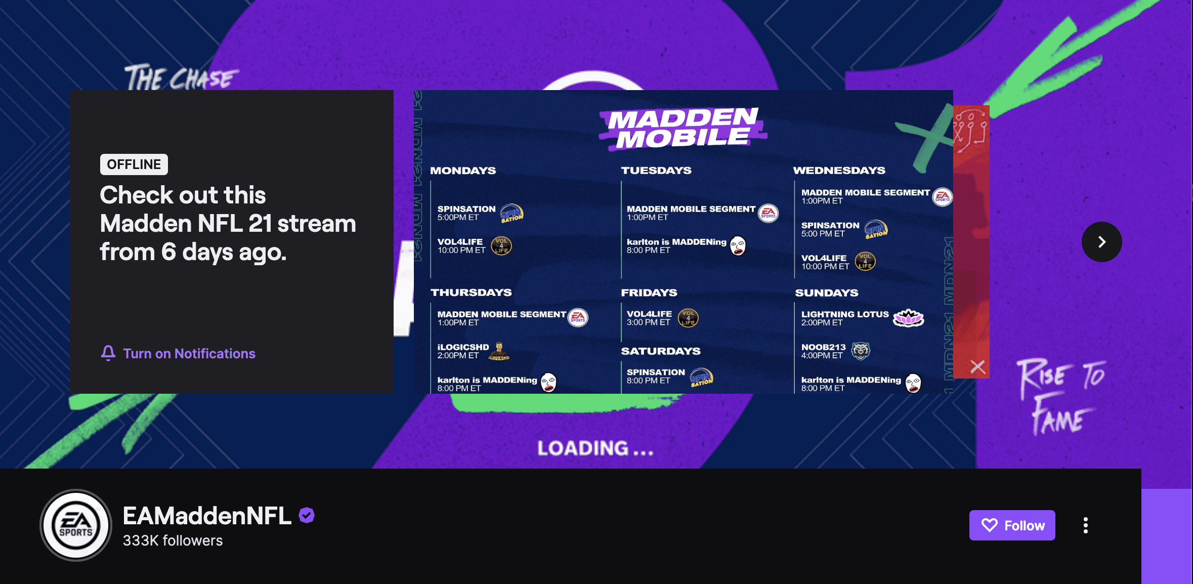 twitch banner text example