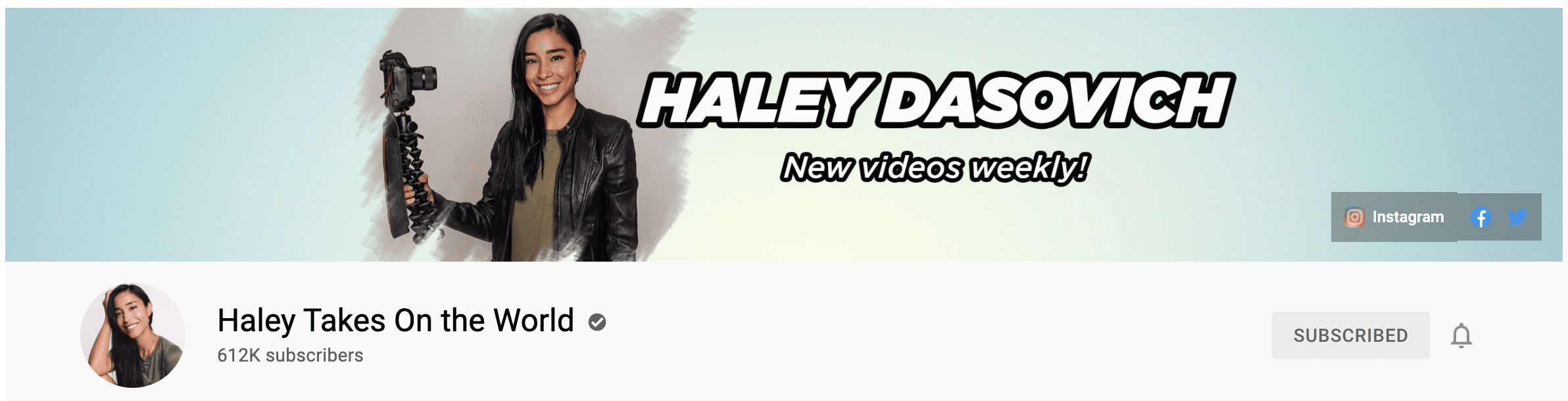 youtube-influencer channel art example
