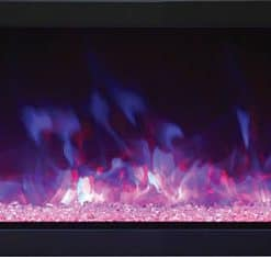 Remii 102735 XS linear electric fireplace.