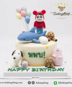 เค้ก 3 มิติ Snoopy