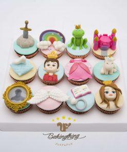 คัพเค้ก 3 มิติ Fairy tales
