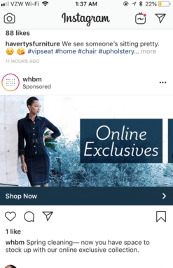 Instagram Ad Size