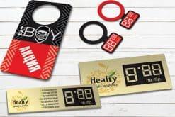 Изработка на картонени етикети