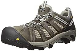 KEEN Utility Men's Flint Low Steel Toe Breathable Work Shoe