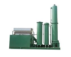 Desorption electrolytic machine