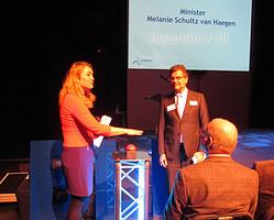 Openingshandeling door Minister Melanie Schultz van Haegen