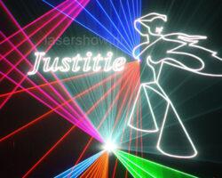 lasershow-justitie