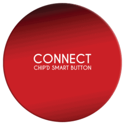 Smart button royal red